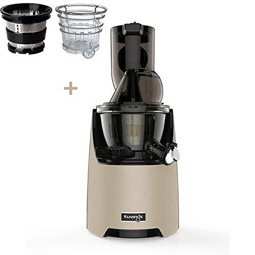 Kuvings Estrattore di succo Evo 820 Gold Champagne c opzional filtri XSmothie e gelato