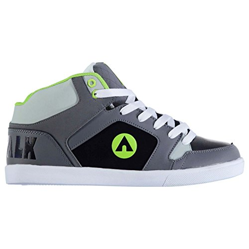 airwalk-roxbury-mid-chaussures-de-skate-pour-homme-anthracite-vert-citron-baskets-sneakers-chaussure