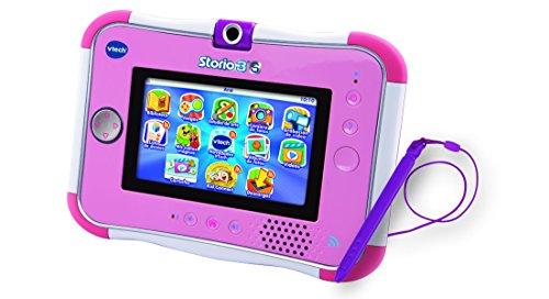 VTech - Storio 3S Tablet Educativo para niños, Color Rosa, versión española  (3480-158867)