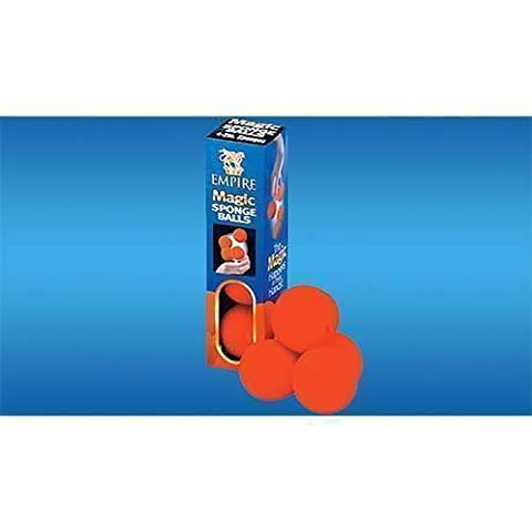 Sponge Ball (Red 5 cm) 4 pack by Loftus - Magic with balls and baloons - Tours et magie magique