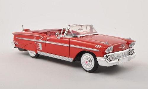 chevrolet-impala-convertibile-rosso-1958-modello-di-automobile-modello-prefabbricato-motormax-124-mo