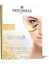 Patchness - Eye Patch Gold - Patch Anti-Âge Collagène - Extraits D'Or 5 Paires
