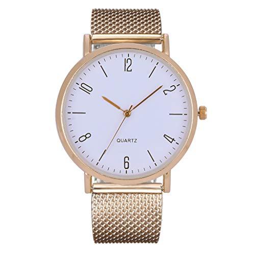 LILIHOT Neue Einfache Damen Quarzuhr Temperament BeiläUfige Uhr Weibliche Modelle Uhren Fashion Einfache Quarzuhr Fashion Casual Business Armbanduhr Wasserdicht Sport Uhren