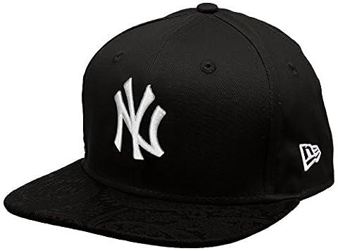 New Era Mlb Poly Core Neyyan Blk - Casquette ligne New York Yankees pour Homme, couleur Noir, taille S-M