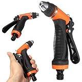 SLB Works Brand New Brass Hose Nozzle High Pressure Water Spray Gun Sprayer Garden Auto Car Washing