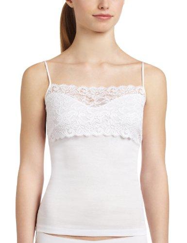 Hanro 1448 - Maillot de corps - Femme Blanc (White 0101)