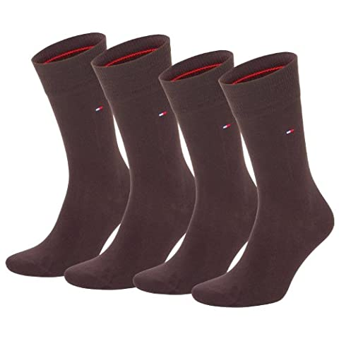 Tommy Hilfiger Classic Chaussettes. Très bonne marque 6paires de chaussettes au design classique - marron - 39/42