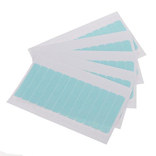 sharplace 60Tabs, vorgeschnittenen Super Double Side Schuss oder Tape Perücke Haar Verlängerung Ersatz (4cm * 8mm)