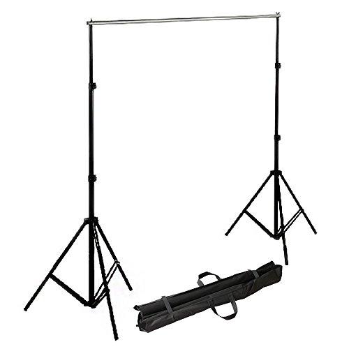 RPGT® Fotostudio-Hintergrundsystem 2m x 2,8m mit Transporttasche