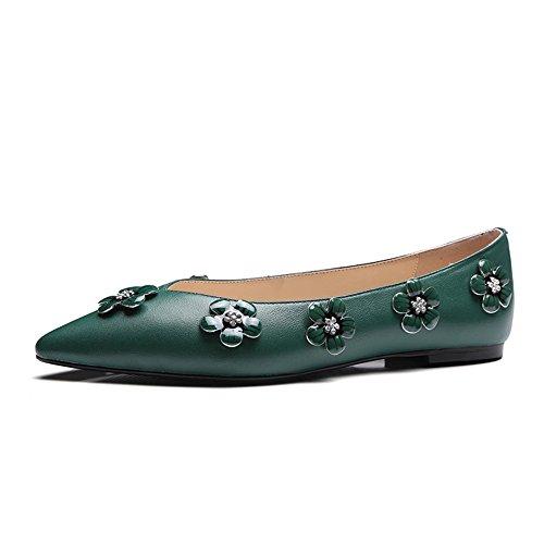 Nine SevenBallet Flats - Ballet donna Green