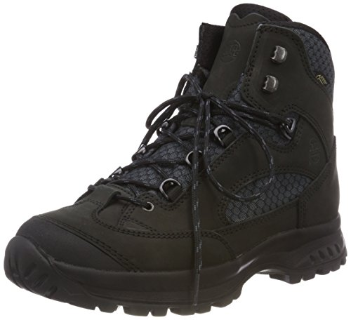 Hanwag Herren Banks II GTX Trekking-& Wanderstiefel, Schwarz (All Black 112), 47 EU (Bank Outdoor-gepolsterter)