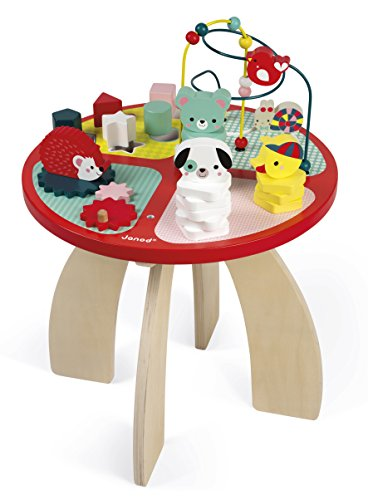 Janod J08018 Baby Forest Activity Tisch -