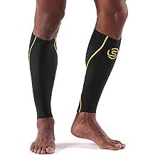 Skins Essentials-Manicotto, colore: nero/giallo, taglia: L (taglia del produttore: L)