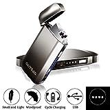 AUTSCA Mechero Eléctrico, USB Encendedor Doble Arco