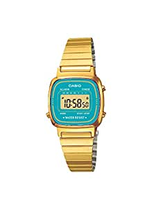 Casio Collection Damen-Armbanduhr Digital Quarz LA670WGA-2DF