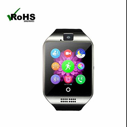 Fitness Armband Bluetooth Herzfrequenz,Fern Fotografieren Sport watch mit Musik Player und Schrittzähler Smart Uhr für iPhone IOS und Android Smartphones