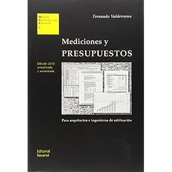 Mediciones y presupuestos. 2 Ed. (MUE1)