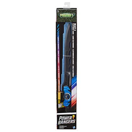 Sabre électronique Beast-X Power Rangers Beast Morphers - Jouet d'épée Power Rangers
