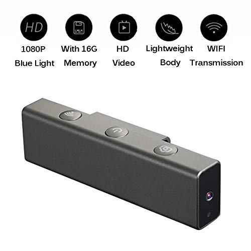 1080P HD Drahtlose Brillengestellkameras - Innovativ Blinzelnde Augen Kamerafunktion. Geeignet Für Den Innen- Und Außenbereich,Black ()