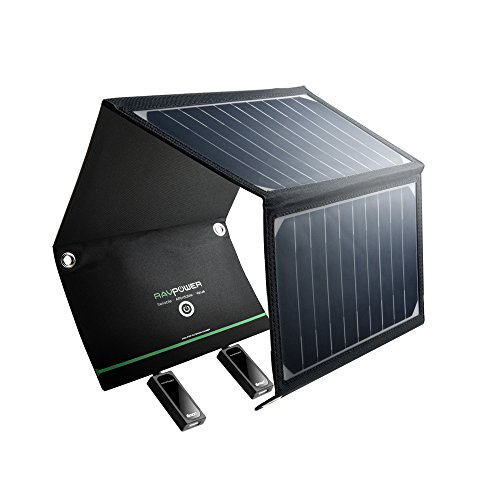 RAVPower-16W-Solar-Charger-with-Dual-USB-Port-Foldable-Portable-High-Efficiency-Outdoor-Solar-Panel-for-Smartphones-Tablets-and-More