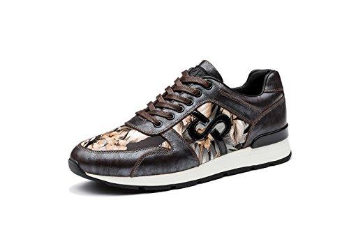 OPP Homme Baskets Chaussures de Course Neuf Marron