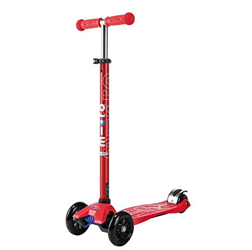 Maxi Micro rot metallic (T-Lenker) MM0225 Kinderscooter 5-12 Jahre (Maxi Micro Scooter Pink)