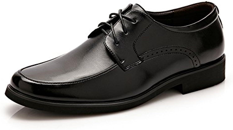 Xujw shoes  2018 Schuhe Herren  PU Leder Geschaumlfts Oxfords der Männer schnüren Sich Oben Formale Hochzeits Kleid Schuhe