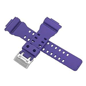 Casio Uhrenarmband für GA-100DN-6A GA 110DN 110 100 Violett