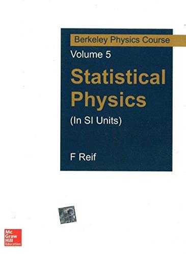 STATISTICAL PHYSICS BERKELEY SERIES