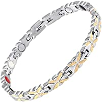 Damen Magnetisch bracelets-all sizes-4in 1Damen Magnet Armbänder Gesundheit für Schmerzen Arthritis Karpaltunnelsyndrom... preisvergleich bei billige-tabletten.eu