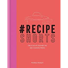 #RecipeShorts: Delicious dishes in 140 characters