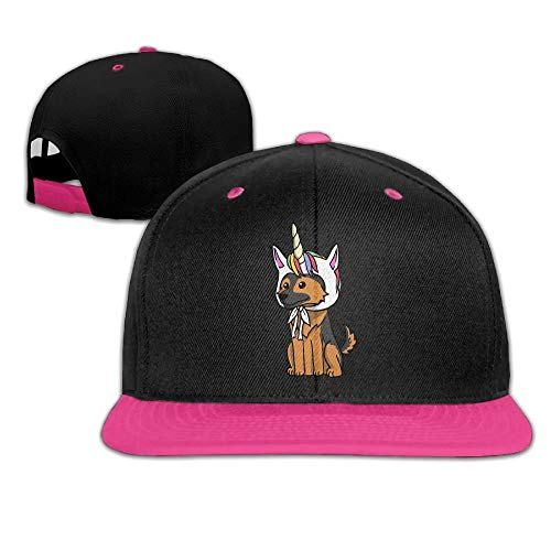 fgjfdjj Men Women Funny Unicorn German Shepherd Fashion Baseball Caps Adjustable Hip Hop Dad Snapback Hat for Four Seasons -