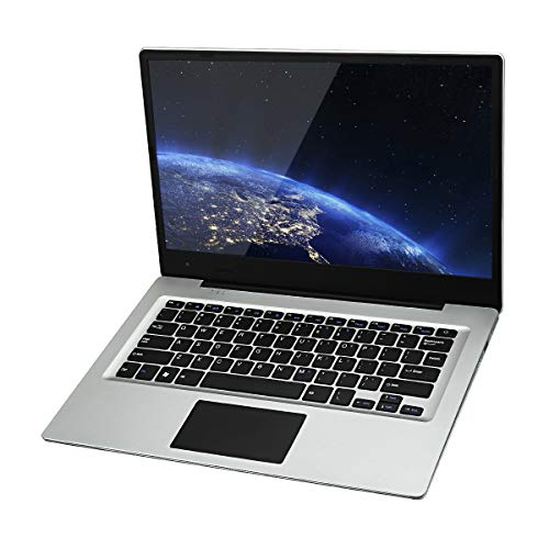 Jumper Ezbook 3S Laptop 14.1 pollici 256GB SSD 6GB RAM, Display FHD 1920 * 1080, Ultrabook Windows 10 Home Intel Celeron N3450 Quad Core 1.1GHz, Espandibile con SD Scheda fino a 128GB, Argento
