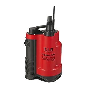 T.I.P. I-Compac 7500 – Bomba sumergible de drenaje para aguas residuales (hasta 7.500 l/h)