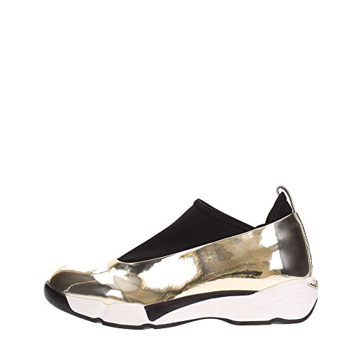 Pinko MAGNOLIA1 Sneakers Donna Ecopelle Gold Gold 37