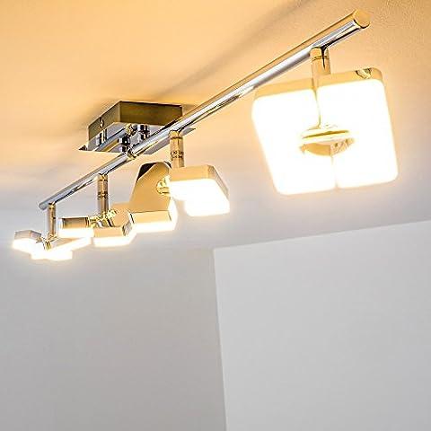 Barre 6 Spots - Barre de spots LED Turin - 4