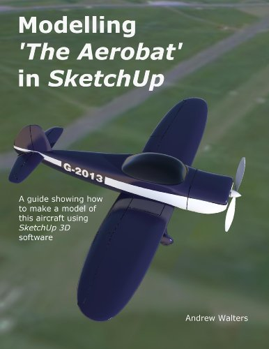 Modelling 'The Aerobat' Light Aircraft in Sketchup (English - Rhino 3d-software