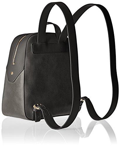 Pollini Bag, Zaino Donna, 14 x 26 x 28 cm (B x H x T) Nero (Black)