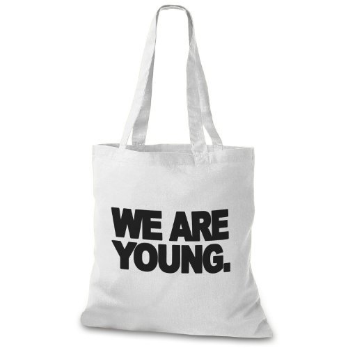 StyloBags Jutebeutel / Tasche We are young Natur
