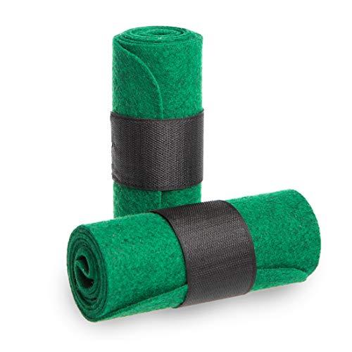 Ultrasport Treesaver, Slackline Baumschutz, Tricklines und Longlines, das Zweiteilige Tree Wear schützt Bäume und Slack Lines, in Grün