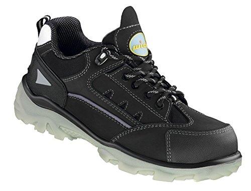 WICA - Herren Sicherheits Halbschuhe S3 - Schwarz Schuhe in Übergrößen