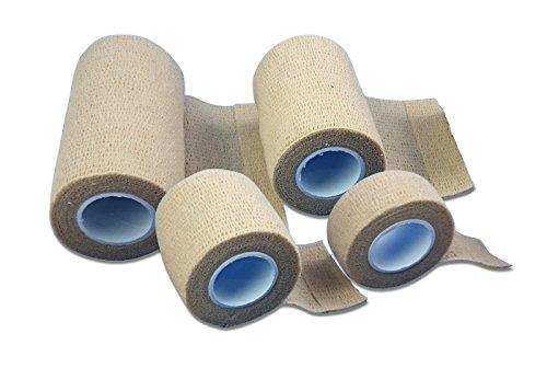 4x LisaCare Pflasterverband, Fingerpflaster, Wundpflaster, Pflaster ohne Kleber, wasserfest und elastisch Kinderpflaster PRIME