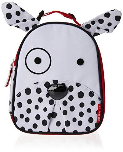 Skip Hop Zoo Lunchie Mini Vespertasche für den Kindergarten, isoliert, mit Namensschild, mehrfarbig, Dalmatiner Dax