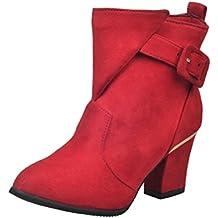 MISS SIXTY Zapatos De CueroRojoTacón: 9 cm YjSN1