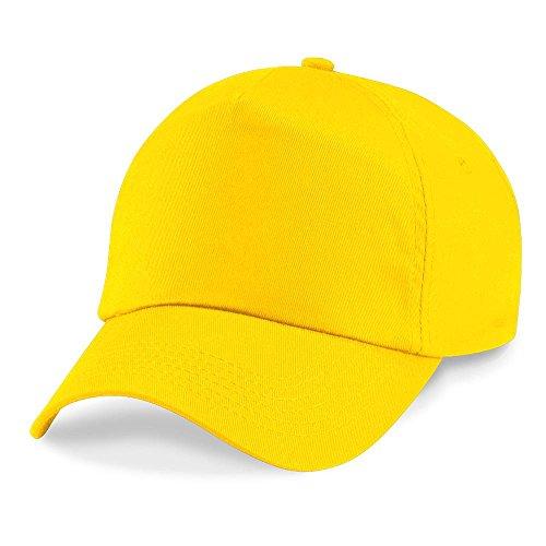 Beechfield - Original 5 Panel Cap Einheitsgröße,Yellow