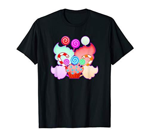 Candyland Süßigkeiten Lover Regenbogenshirt T-Shirt