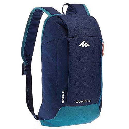 Quechua Arpenaz, zaino da escursionismo da 10 litri, Blue/Light Blue