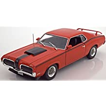 FORD MERCURY COUGAR 1970 COUPE RED ELIMINATOR 1/18 WELLY MODEL CAR