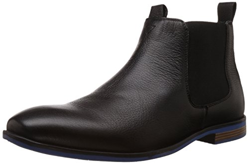 Bata Men's Eric Black Boots - 9 UK/India (43 EU) (8046192)