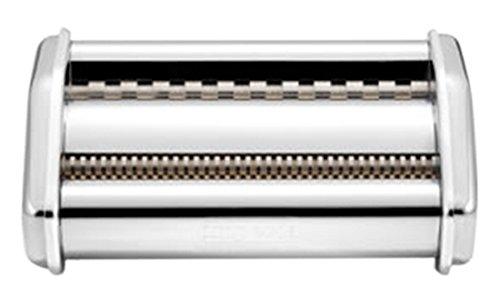 Imperia Tagliatelle Trenette–Pasta & Ravioli Maker Zubehör (Tagliatelle & Trenette Attachment, Stainless Steel, Stainless Steel, Imperia iPasta, PastaPresto)